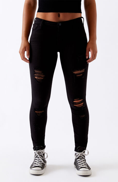 Black Perfect Fit Jeggings