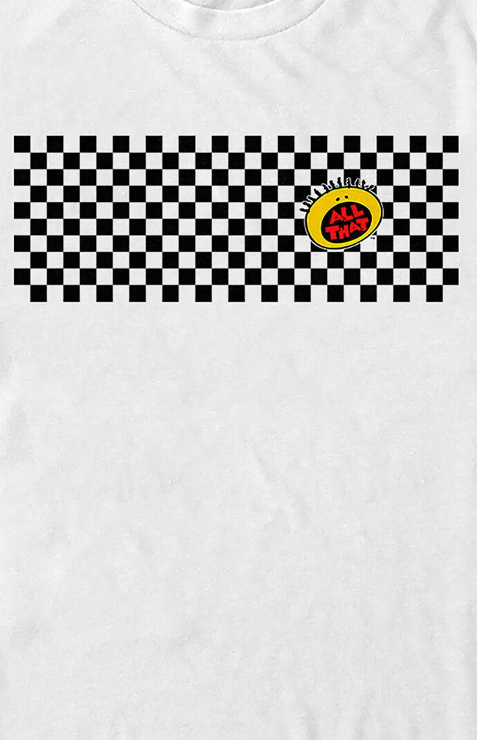 All That Checkers Logo T-Shirt
