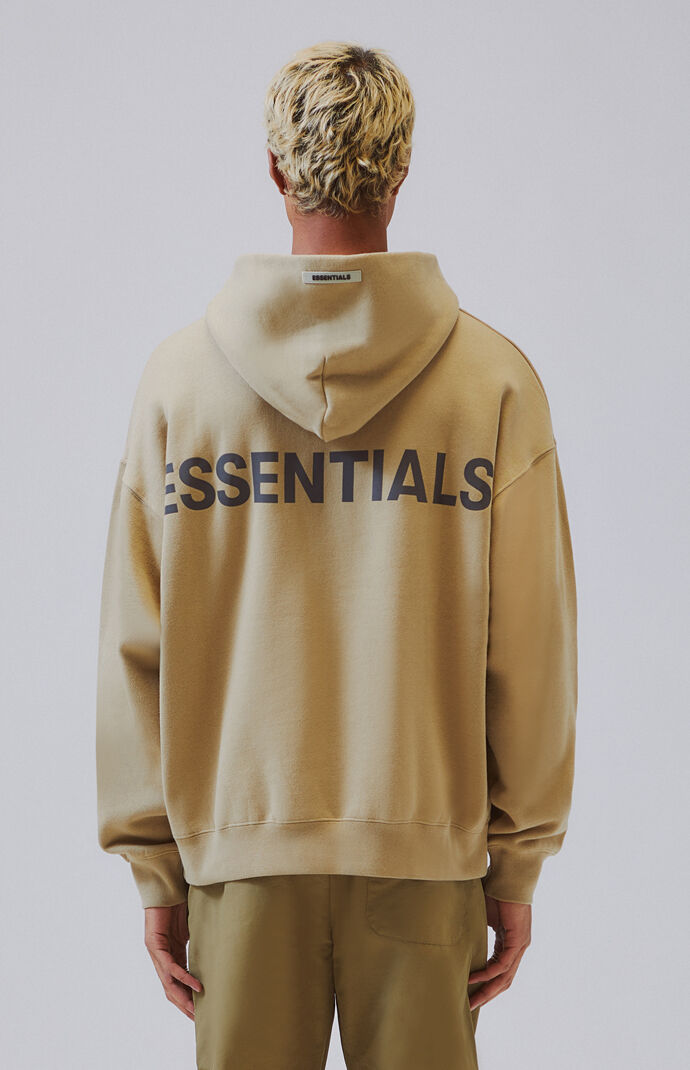 Fog Fear Of God Essentials Pullover Hoodie At Pacsun Com