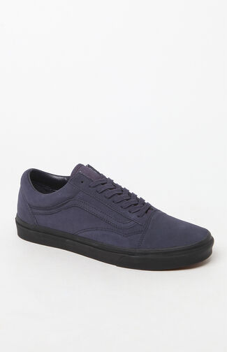 Suede Old Skool Blue & Black Shoes