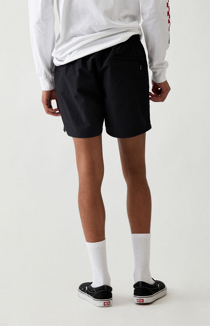 Black Primary Volley Shorts