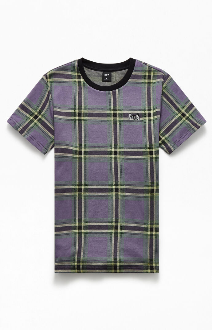 Borland Plaid Knit T-Shirt
