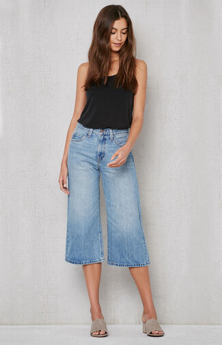 The Denim Culottes