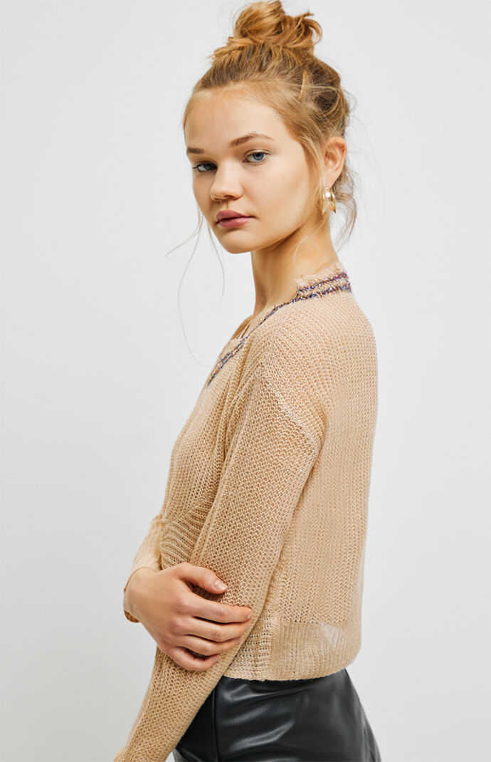 Tiana Twist Front Sweater