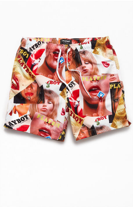 "By PacSun Cover 17"" Swim Trunks"