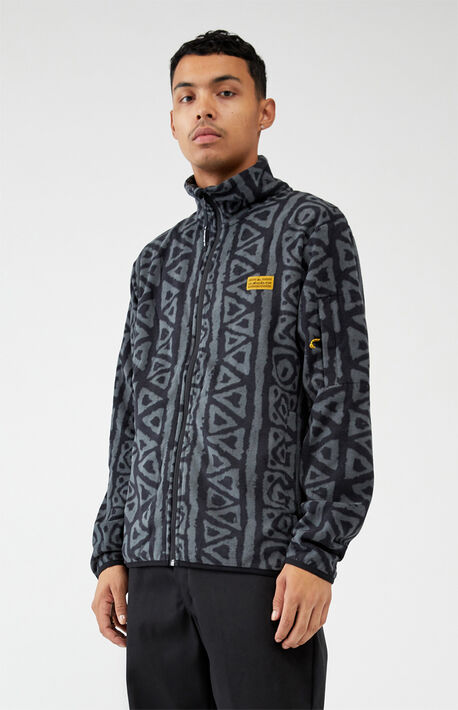 Sound Waves Polar Fleece Zip Jacket