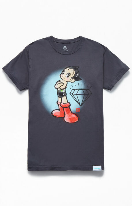 new arrival 6c917 56c73 x Astro Boy Mighty Atom T-Shirt. Diamond Supply Co ...