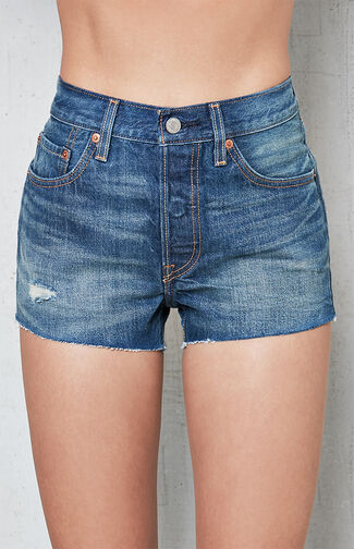 501 California Tide Denim Shorts