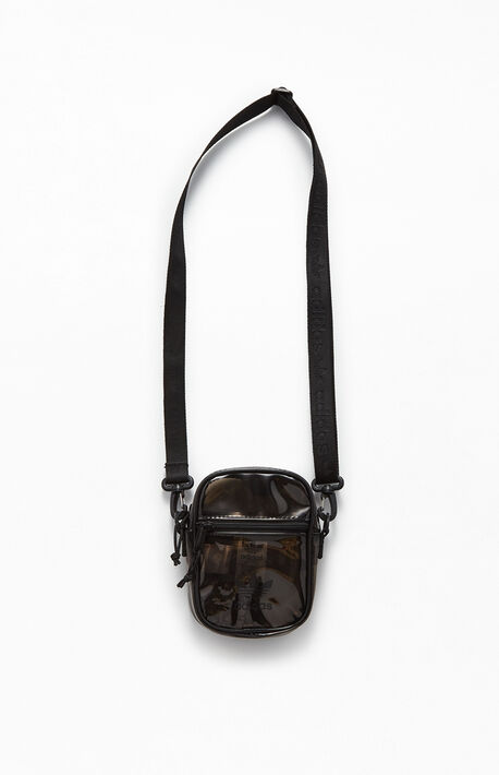 Carbon Black Tinted Festival Crossbody Bag