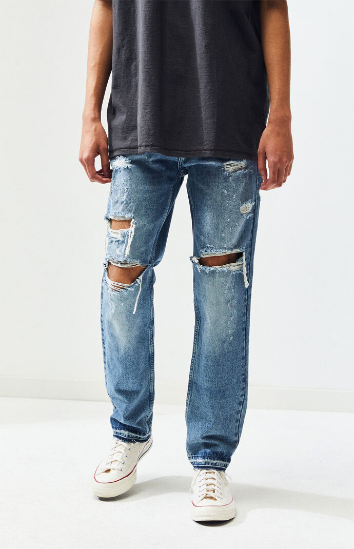 9001fa4d804 Ripped Medium Slim Fit Jeans