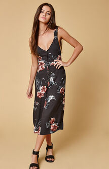 Homecoming Floral Jumpsuit