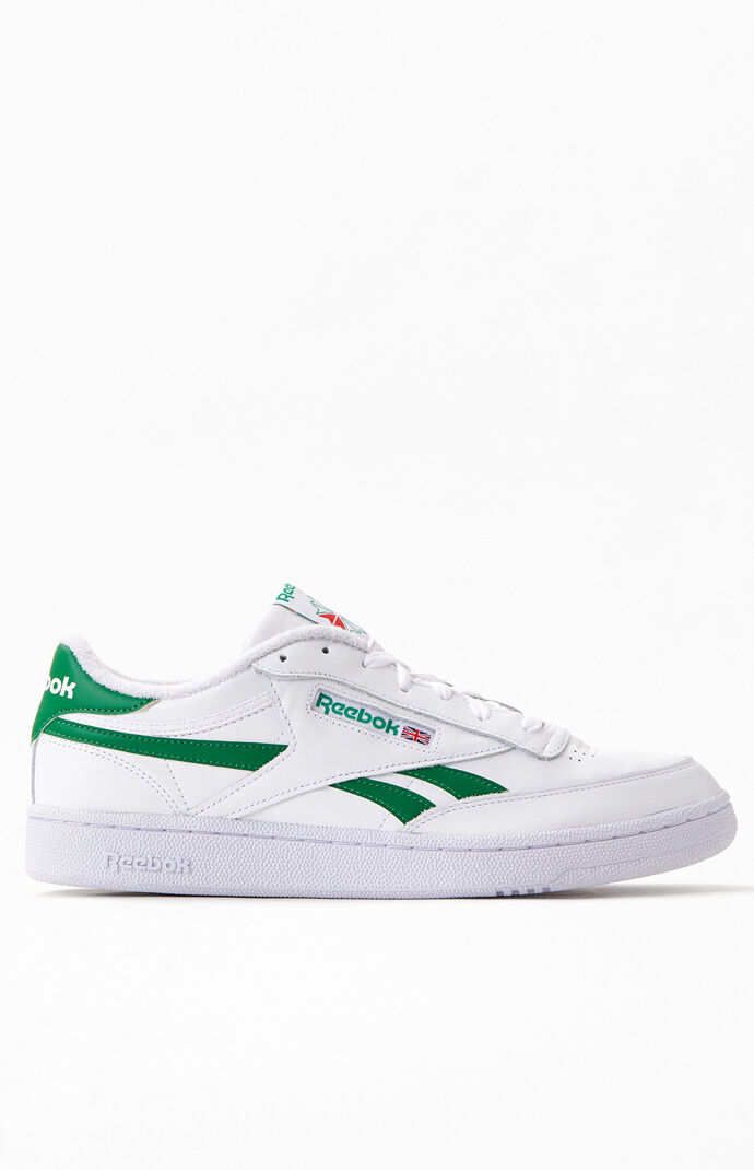 White & Green Club C Revenge Shoes