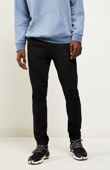 Skinniest Active Stretch Black Jeans