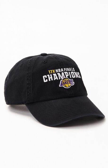 LA Lakers NBA Champions Strapback Dad Hat