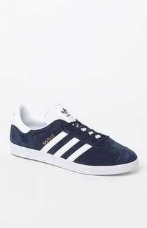 Gazelle Navy & White Shoes