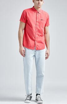 Flood Crop Denim Jeans