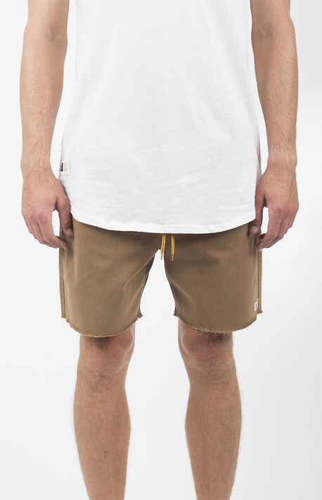Khaki Weekday Jogger 2.0 Shorts