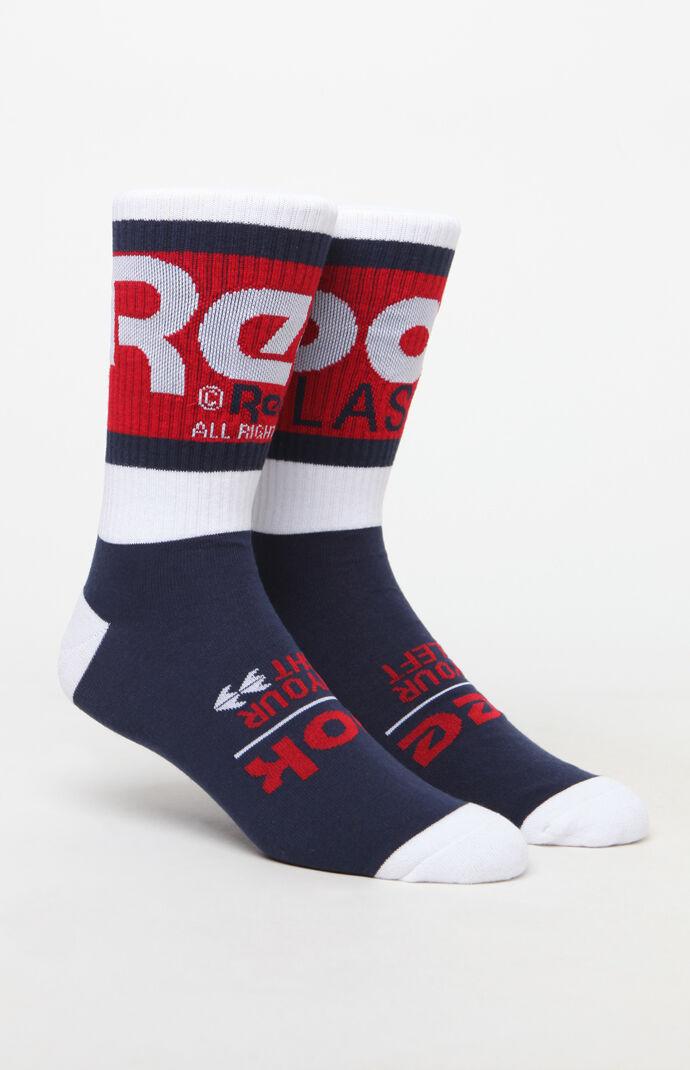 6e04e612ba4 Reebok Vector Graphic Crew Socks