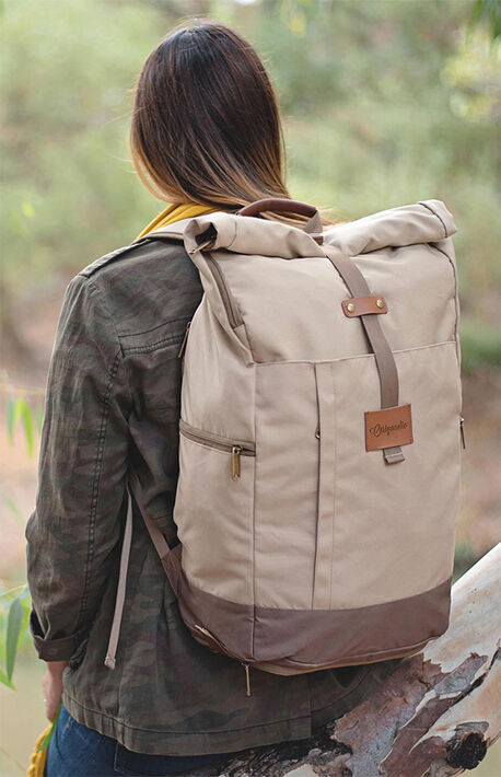 Tan El Dorado Backpack