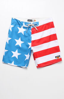 "Home Stars & Stripes 18"" Boardshorts"