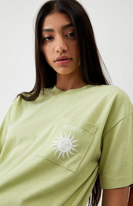 Le Soleil Recycled Pocket T-Shirt