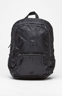 Lock Up Black Backpack
