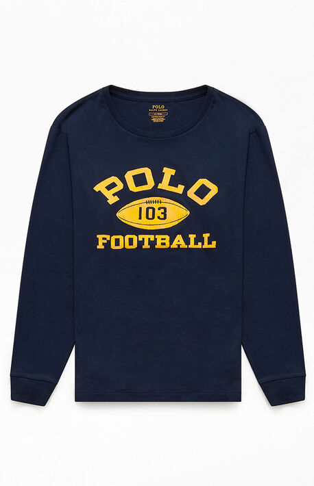 Navy Grays Hall Long Sleeve T-Shirt