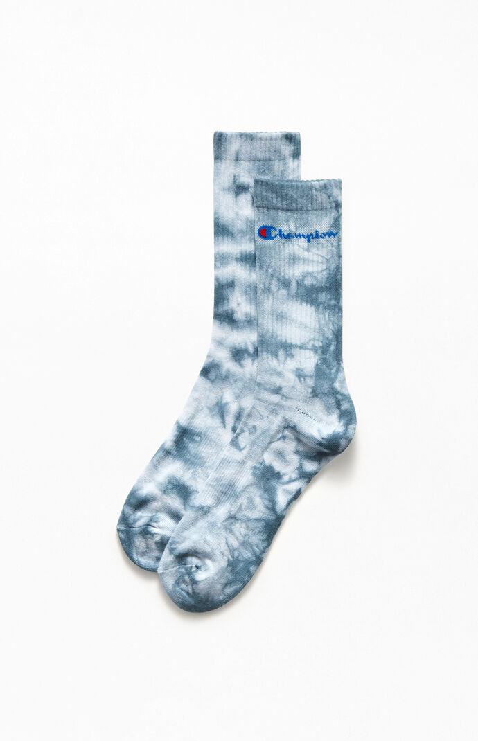Tie-Dyed Crew Socks