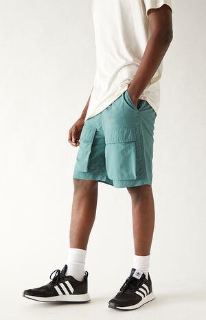Alec Front Pocket Nylon Shorts image number null