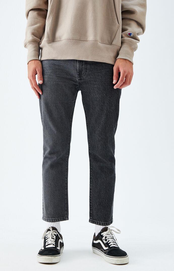 Dark Gray Vintage Skinny Jeans