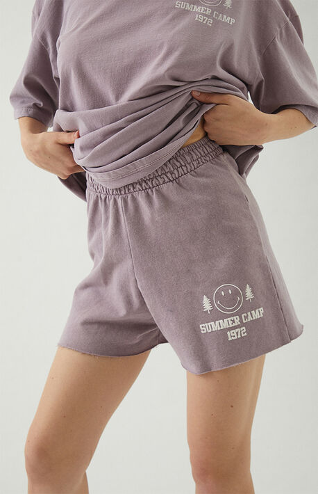 Happy Camper Sweat Shorts