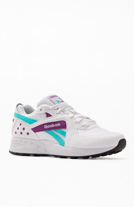 9874acc51 Teal & White Pyro Shoes