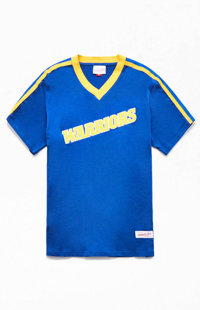 competitive price 37b83 98410 Mitchell and Ness Golden State Warriors T-Shirt | PacSun