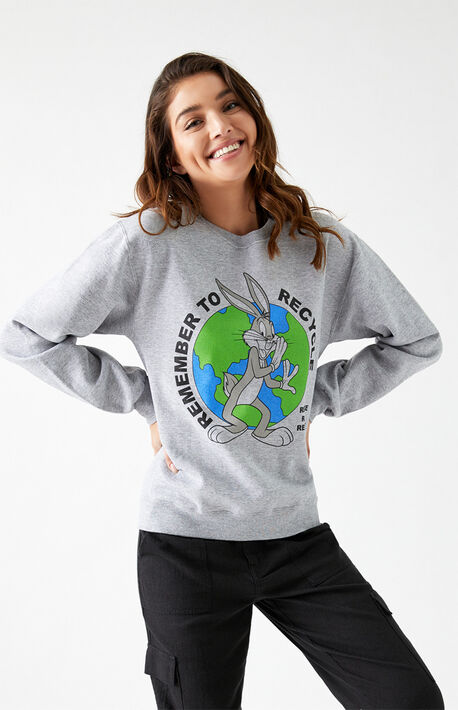 Remember To Recycle Crew Neck Sweatshirt