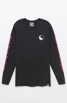 Yin-Yang Spiral Long Sleeve T-Shirt