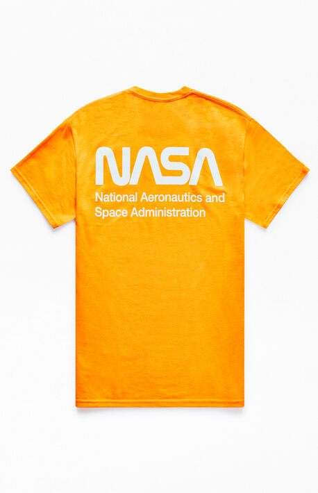 1eeadab6a4b x NASA Orange Neon T-Shirt
