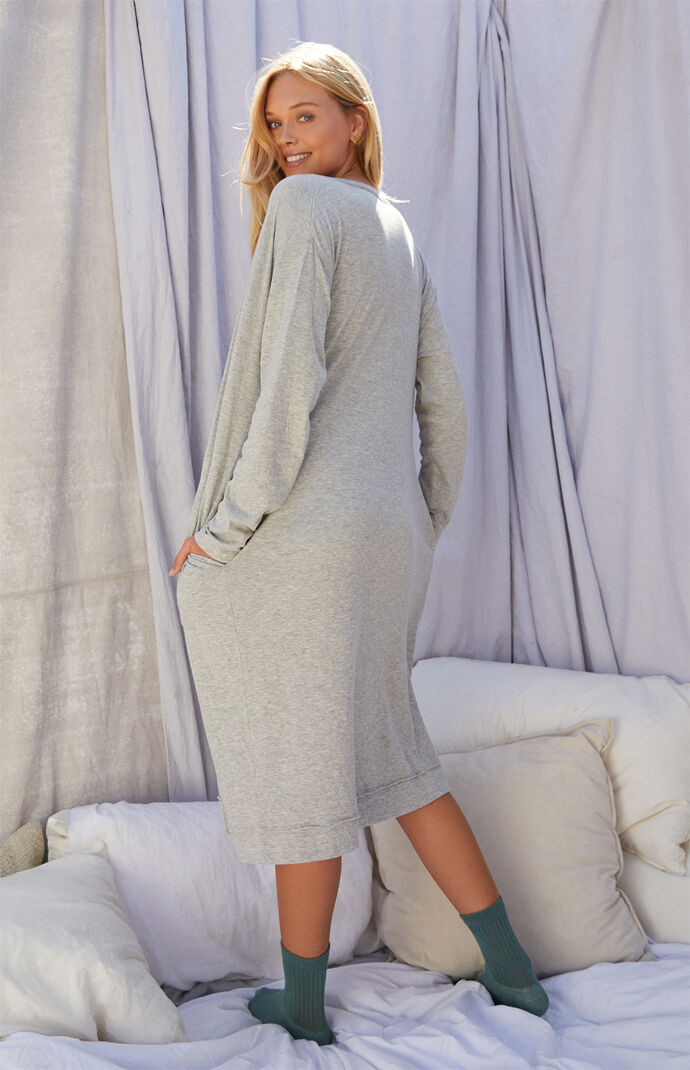 Hazel Knit Robe