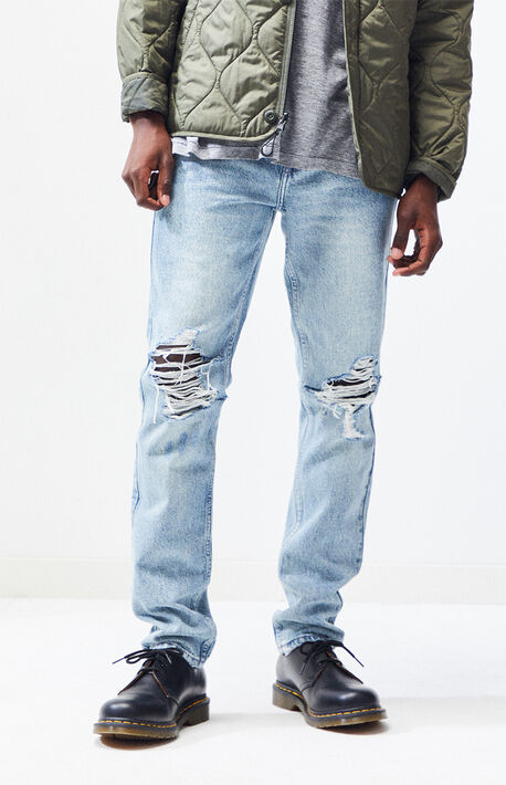 7b6f650c7a6 Light Destroy Skinny Jeans