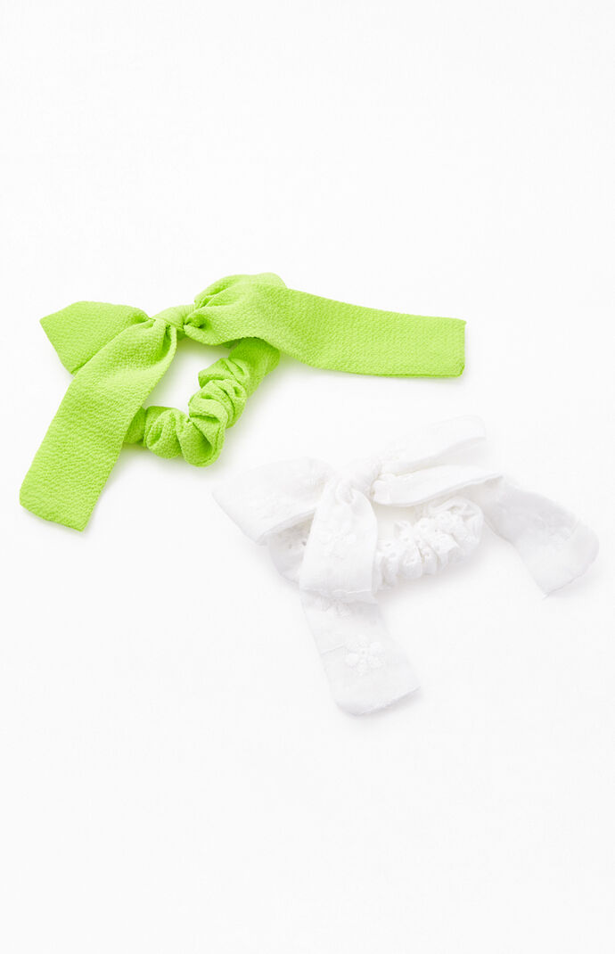 Bow Hair Tie 2-Pack