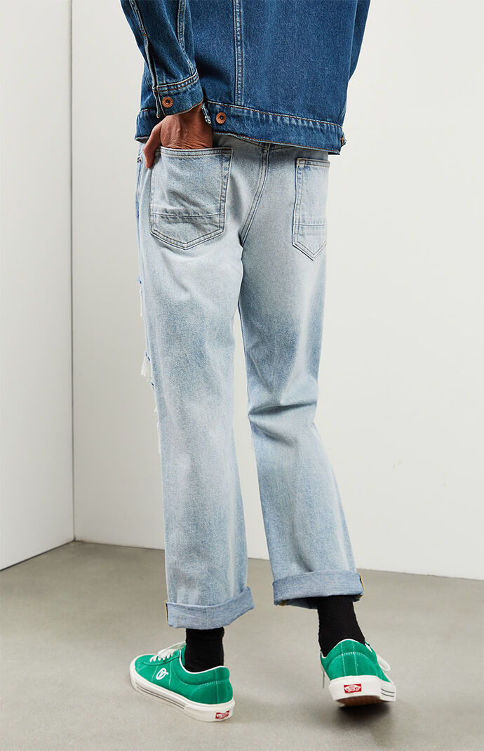 Sawyer Medium Ripped Vintage Loose Jeans