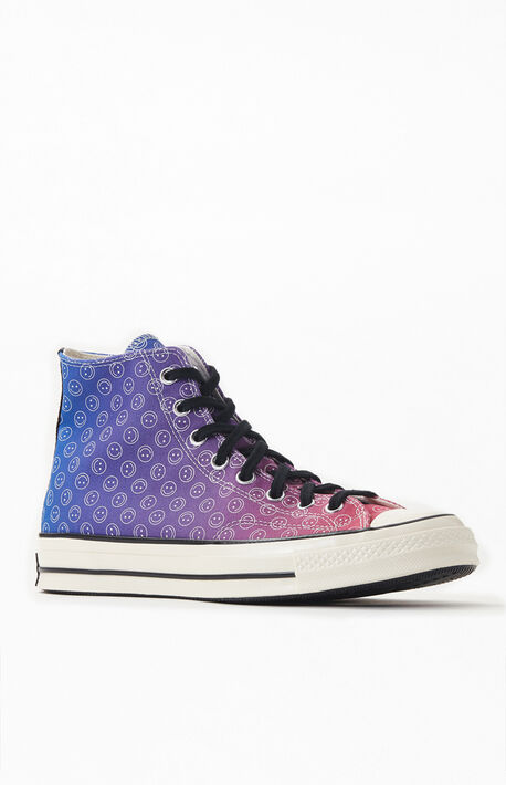 Happy Camper Ombre Chuck 70 High Top Shoes