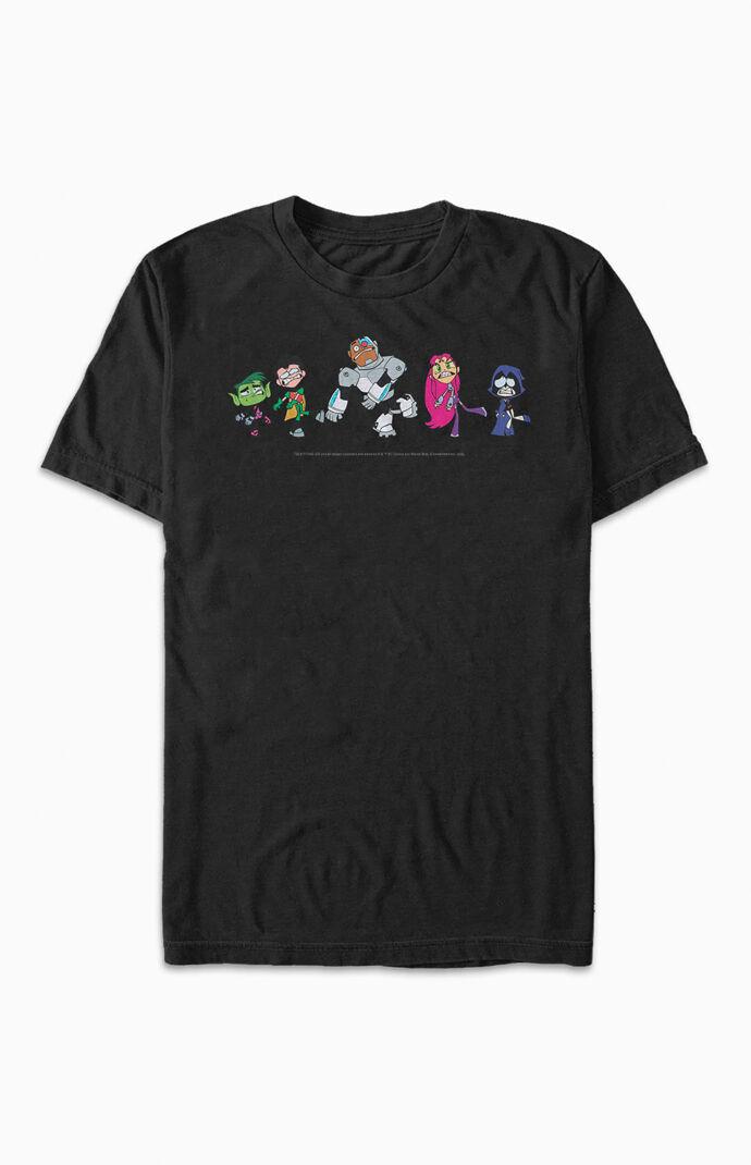 Teen Titans Go Group T-Shirt