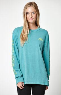 Vibes Custom Box Pigment Long Sleeve T-Shirt