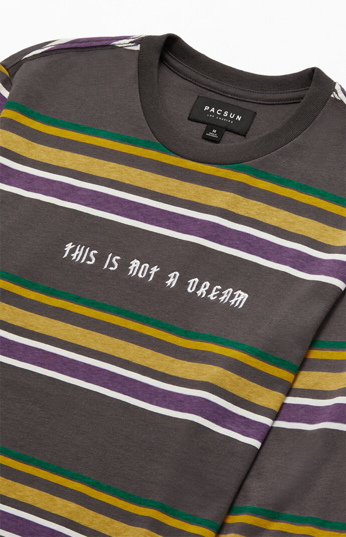 Not A Dream Long Sleeve Striped T-Shirt