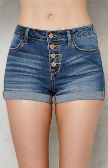 Ella Super Stretch Denim Shorts