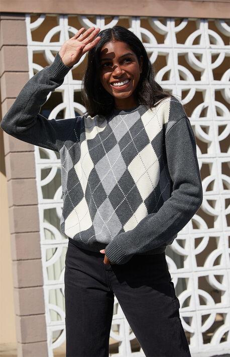 Gray Bernadette Sweater