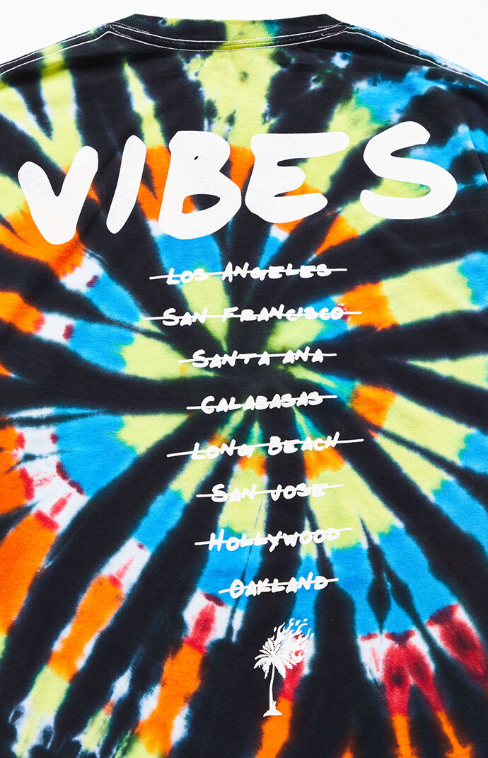 Vibes Tie-Dyed T-Shirt
