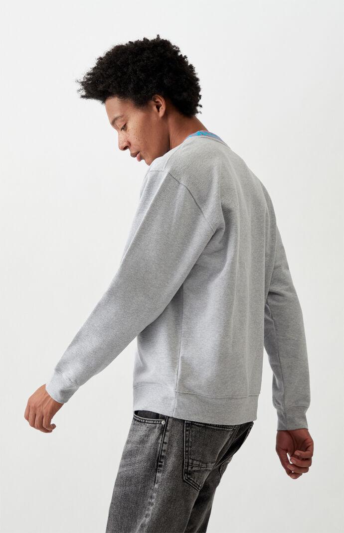 Jaquard Crew Neck Sweatshirt