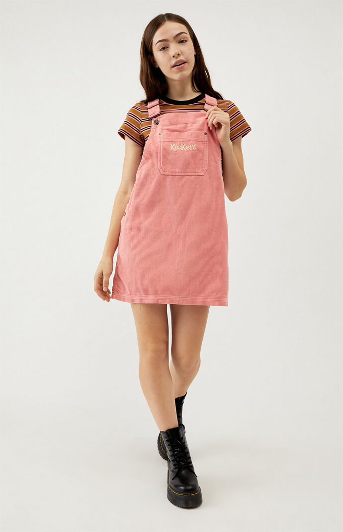 Dungaree Corduroy Dress