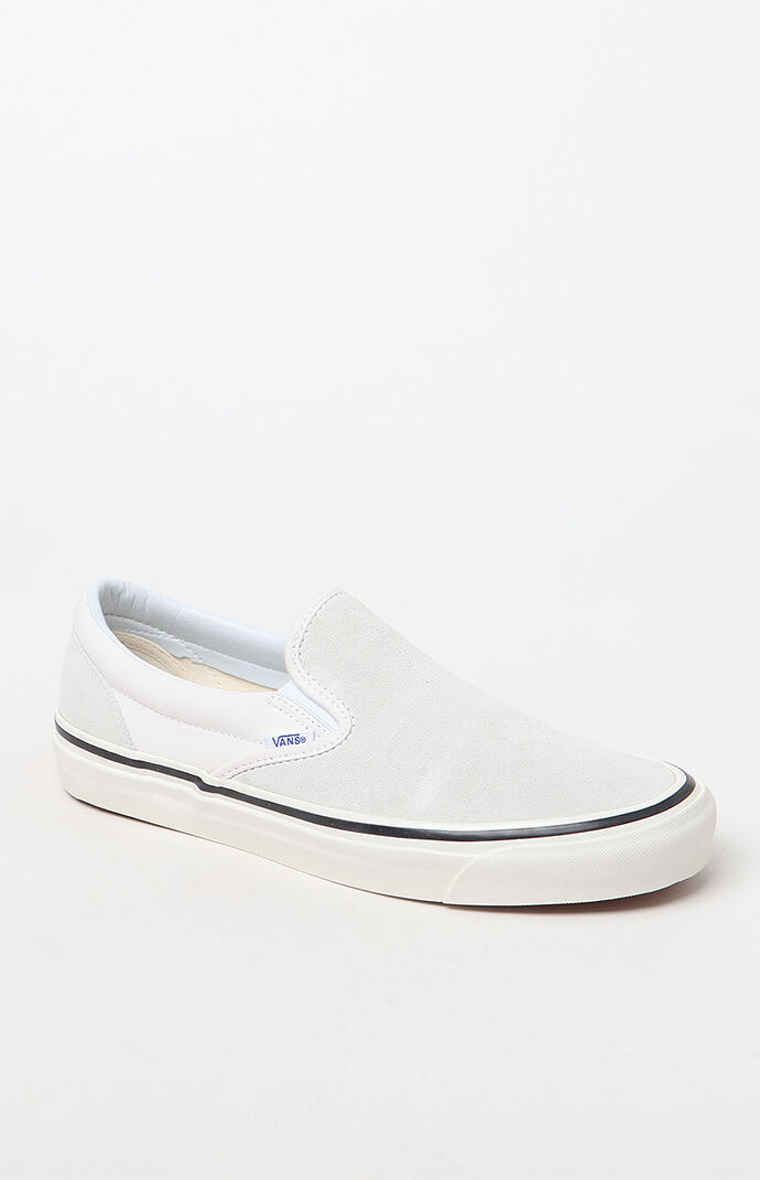 0d1ff7386db9 Vans Anaheim Factory Slip-On 98 DX White Shoes at PacSun.com